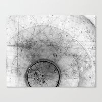 Particle Tracks Canvas Print
