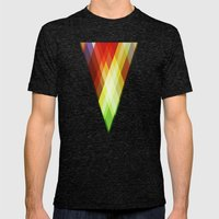 RGyle Mens Fitted Tee Tri-Black SMALL