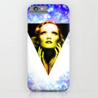 Marlene Dietrich golden sunrise iPhone 6 Slim Case