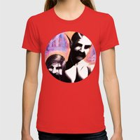 Keepers of the Underworld Womens Fitted Tee Red SMALL