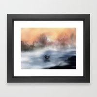 The Lake Of Tranquility Framed Art Print
