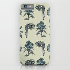 Botanical Florals | Vintage Blue iPhone 6 Slim Case