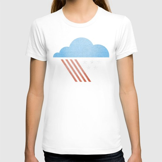 Patriotic Weather. T-shirt