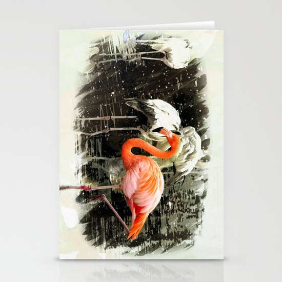 Standing Out Stationery Card