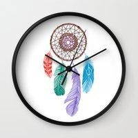 Dream Catcher Multi Wall Clock