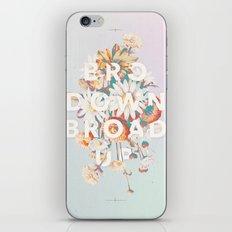 Bro Down, Broad Up iPhone & iPod Skin