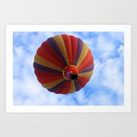 balloon Art Prints featuring Balloon  by Christine baessler