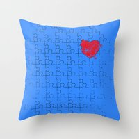 Most Important Piece Throw Pillow