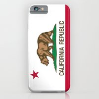 California Republic state flag - Authentic High Quality Version iPhone 6 Slim Case