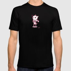 Lemur Chic SMALL Black Mens Fitted Tee