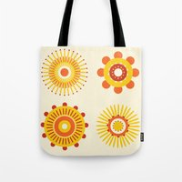 Sunburst: Yellow Tote Bag