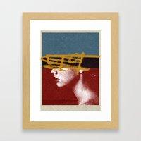 49 | Collage Framed Art Print