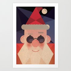 Guess who's coming ! Art Print