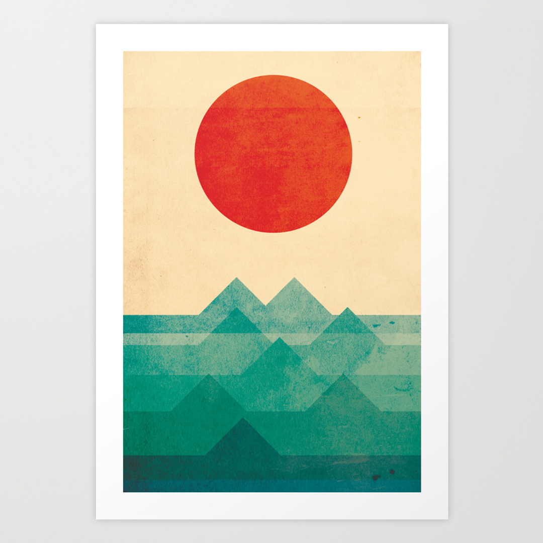 Popular art prints society6 for Art minimaliste artiste