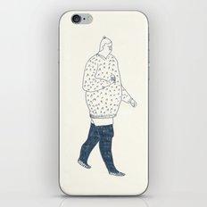girl with an ice cream iPhone & iPod Skin