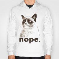 GRUMPY CAT - Nope (versi… Hoody