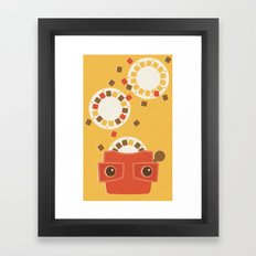 Ephemera - Part I Framed Art Print