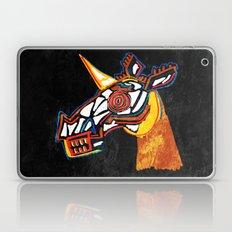 Basquiat Skull Unicorn Laptop & iPad Skin