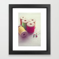 It's The Simple Things..… Framed Art Print