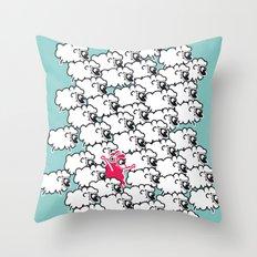 Borregueando!  Throw Pillow