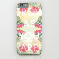 iPhone & iPod Case featuring Grow As You Are by Jo Cheung Illustration