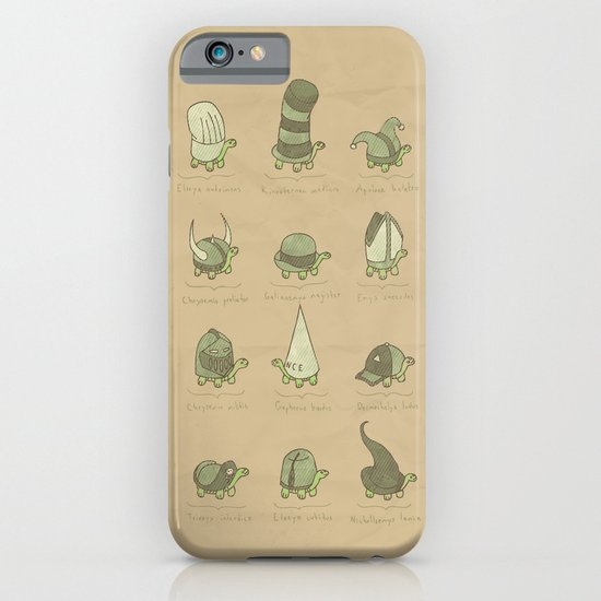 A Study of Turtles iPhone & iPod Case