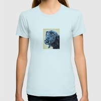 Sam Womens Fitted Tee Light Blue SMALL