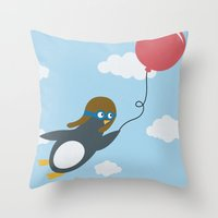 Take Flight! Throw Pillow