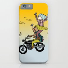 On the freedom experienced by Desert Bike Harpies.   iPhone 6 Slim Case