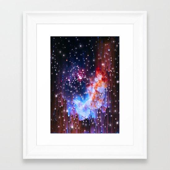 StarField Framed Art Print