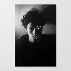 two faces Canvas Print