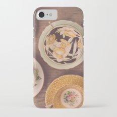 Vintage Teacups Slim Case iPhone 7