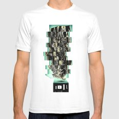 Idol II SMALL White Mens Fitted Tee