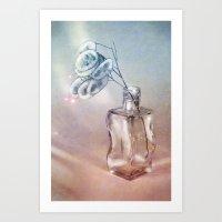 LUNARIA LIGHT Art Print