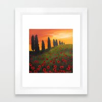 My Dear Tuscany Framed Art Print