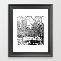 If You Really Want To He… Framed Art Print