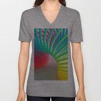 Rainbow Spring Unisex V-Neck