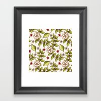 Floral Dream Framed Art Print