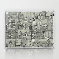 dystopian toile mono Laptop & iPad Skin