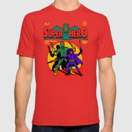 T-shirt featuring Superhero Comic by Harebrained