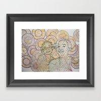 Sunshine In An Emo World Framed Art Print
