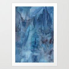 Ocean Wash Art Print