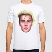 The Apotheosis of JustinBieber Mens Fitted Tee Ash Grey SMALL