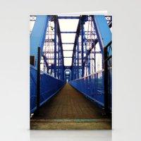 Purple People Bridge Stationery Cards