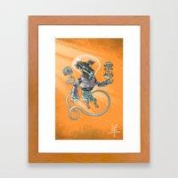 Astro Zodiac Force 08: Ram Framed Art Print