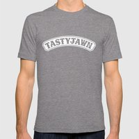 Tasty Jawn Mens Fitted Tee Tri-Grey SMALL