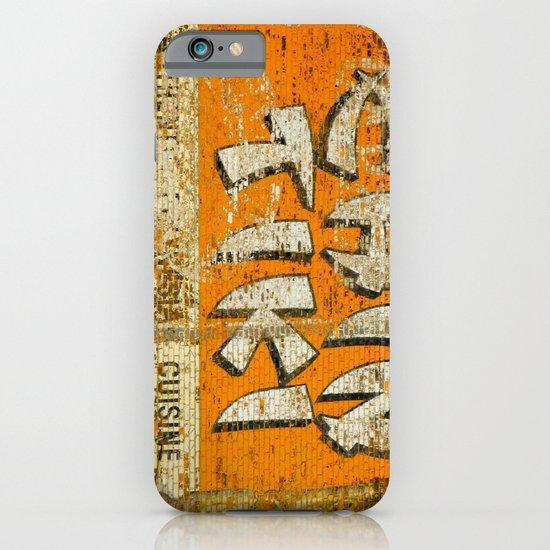 Chin Tiki Wall  iPhone & iPod Case