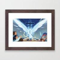 Like Lightning (by Melanie Matthews) Framed Art Print