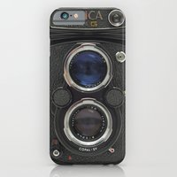 iPhone & iPod Case featuring Vintage Camera (Yashica  124 G) by Josh Kirk