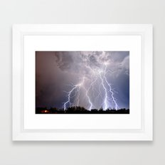 Monsoon Jewel of the Night Framed Art Print